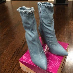 Shoes - Light Denim boot